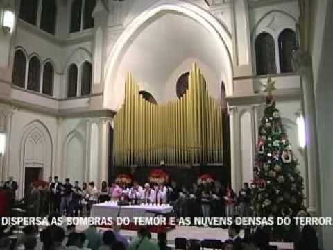 C&Atilde;&cent;ntico de Natal entoado no Culto das Luzes no dia 20 de dezembro de 2009 na Primeira Igreja Presbiteriana Independente de S&Atilde;&pound;o Paulo. &Atilde; VEM, &Atilde; VEM, EMANUEL -...