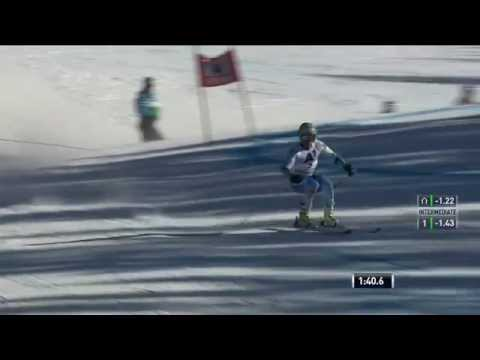 Ted Ligety - the limit of carving skiing