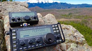 KX Line on Ormes Peak - SOTA