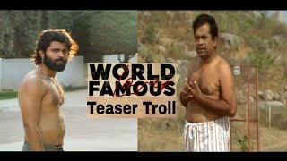 World famous lover teaser troll video #WFL trailer