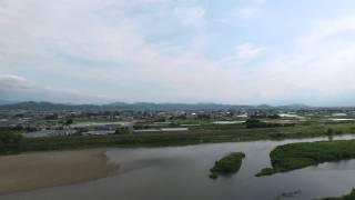 阿武隈川を空から見よう
