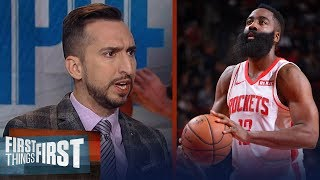 James Harden has been a better player than Kawhi over the long-term | NBA | FIRST THINGS FIRST