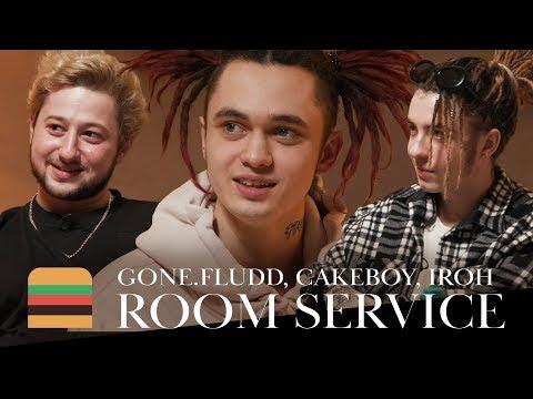 Room Service: GONE.Fludd, CAKEBOY & IROH