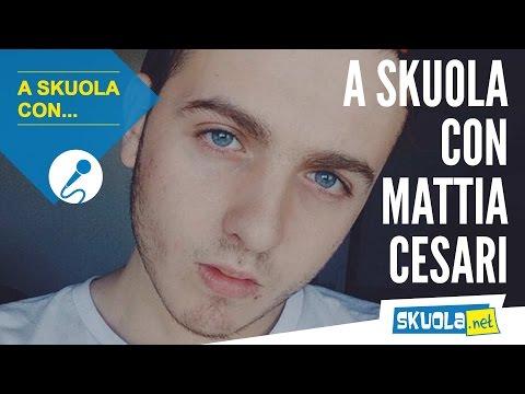 A Skuola con... Mattia Cesari