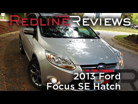 2013 Ford Focus SE Hatch Review. Walkaround. Start Up. Test Drive