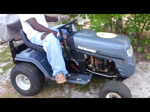 Repair Tested: MTD Yard Machine Lawn Mower Ignition System (Solenoid and Starter)