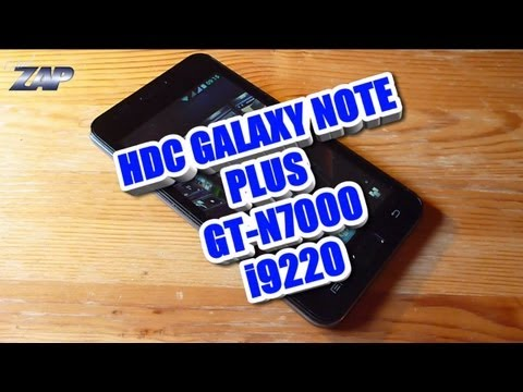 HDC Galaxy Note Plus Haipai Noble i9220 Dualsim MT6575 Android Clone? Review Fastcardtech ColonelZap