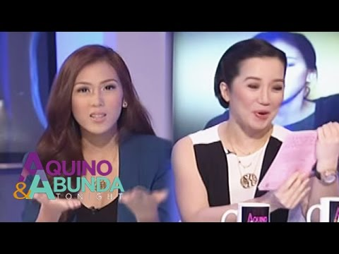 What is the dedication of Alex Gonzaga for Kris Aquino?