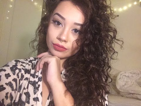 How To Style Curly Hair | Perm or Natural