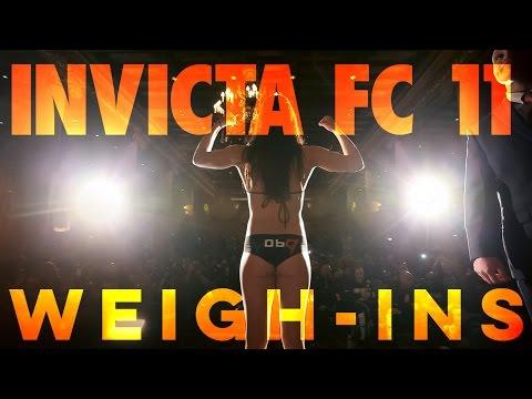 Invicta FC 11: Weigh-Ins