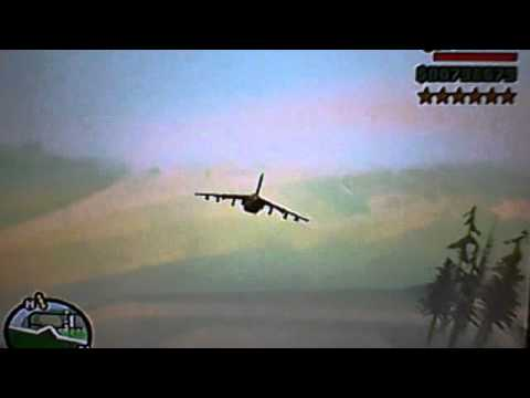 GTA San Andreas How To Fly A Hydra