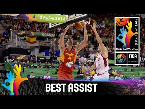 Iran v Spain - Best Assist - 2014 FIBA Basketball World Cup