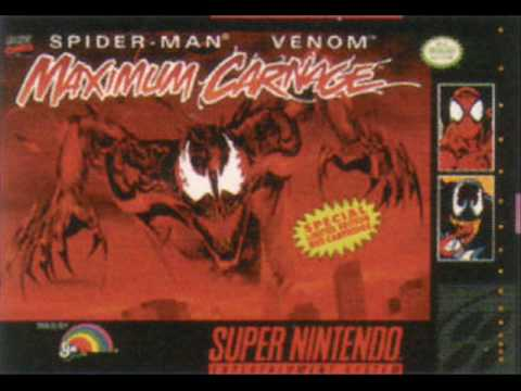 Spider-Man and Venom ~ Maximum Carnage (SNES) - Heated Battle