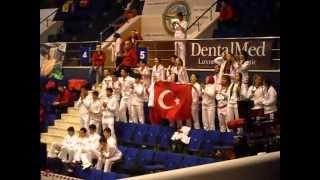 WUSHU / KUNGFU - European Championship - Bucharest April 2013 - TURKISH SUPPORTERS