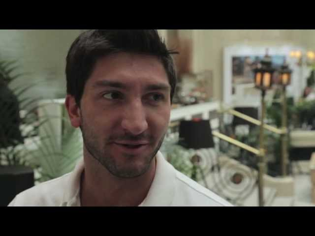Extended Cut from ET interview with Evan Lysacek / London 2012 Olympics
