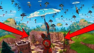 When EVERYONE Lands At Tilted Towers In Fortnite Battle Royale!