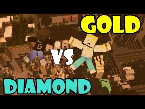 Minecraft: Gold vs Diamond Race V2 w/Sarp - Rekor Zamanda GG!