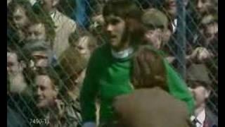George Best Disallowed Goal v England's Gordon Banks at Windsor Park (15 May 1971)