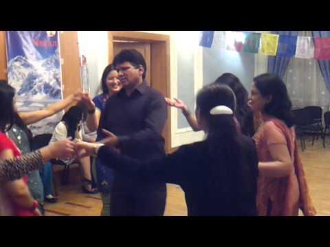 Kafal Gedi Kutukai - Chaite Dashain Festival Celebrated In Nepali Embassy video