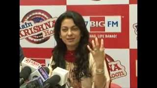Mein Krishna Hoon - JUHI CHAWLA PROMOTES MOVIE MEIN KRISHNA HOON AT BIG FM