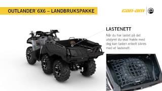 Outlander 6X6 1000 XT Landbrukspakke Norway