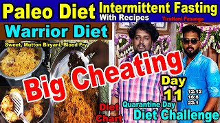 Paleo Diet Intermittent Fasting Day 11 Challenge in Quarantine days (Fast Weight Loss Steps)