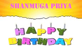 Shanmuga Priya   Wishes & Mensajes - Happy Birthday