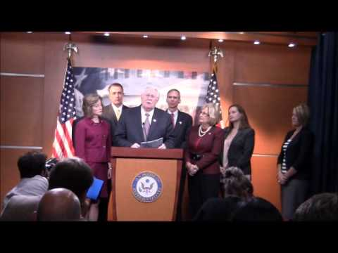 2013 10-09 Rep. Joe Pitts Remarks at Press Conference on Abortion Insurance Full Disclosure Act