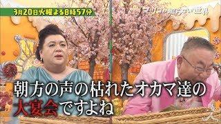 マツコの知らない世界[字]【桜の世界】