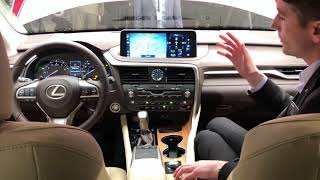 Demoing the New Lexus Touchscreen in the 2020 RX