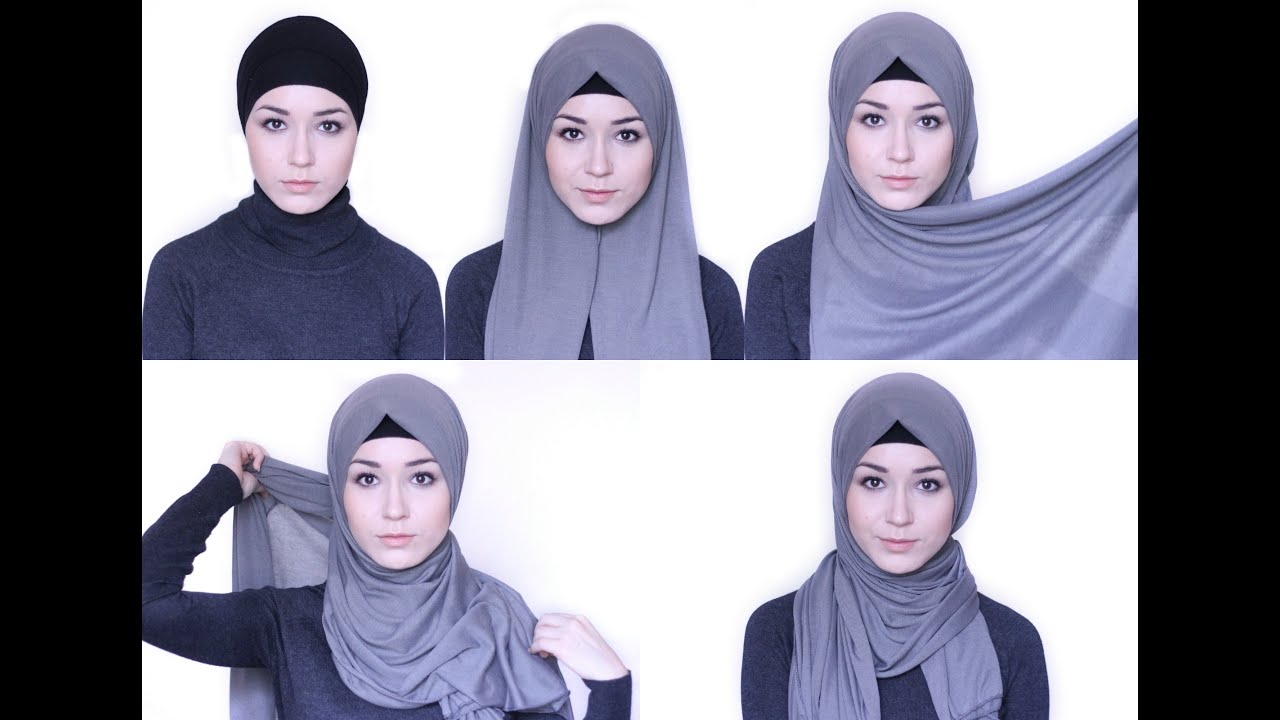 Как носит хиджаб видео