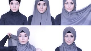 HIJAB TUTORIAL Everday simple style @NABIILABEE
