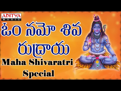 Om Namo Shiva Rudraya || Telugu Devotional Songs || Jukebox || video