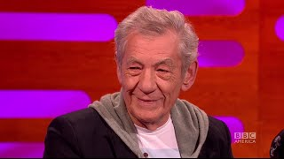 Sir Ian McKellen Warns Students About Studying Properly - The Graham Norton Show on BBC America