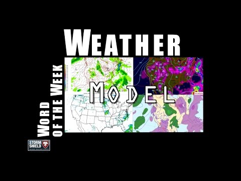 What's a weather model? | Weather Word of the Week