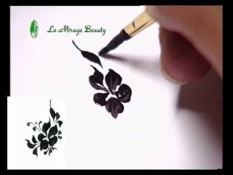 Видео как научиться рисовать на ногтях