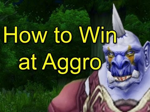 How to Win at Aggro by Wowcrendor (WoW Machinima)