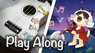 🎵 *Ukulele* 🎶 Hey Diddle Diddle | Kids Fantasy | Play Along Nursery Rhyme | Tucotuco.tv