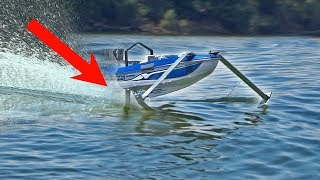 CHEAP HYDROFOIL RC Boat MODS