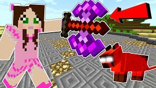 Minecraft: KIDNAPPED BY EVIL CLOUD! (SURVIVE HIS ARENA CHALLENGE!) A HOLE NEW WORLD - Custom Map [3]