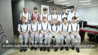 To Australian Carats: Video message and mini interview with SEVENTEEN