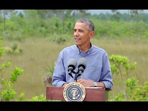 President Obama Visits the Everglades