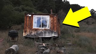 We Found A SURVIVAL Cabin FULL OF STUFF In The Middle Of Nowhere...