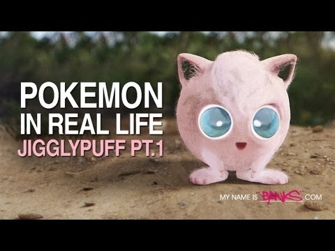 Pokemon in Real Life - Jigglypuff Part 1