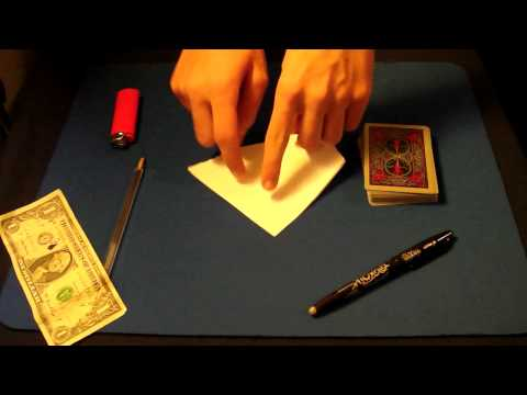 Magic Tricks Revealed: Money to Burn