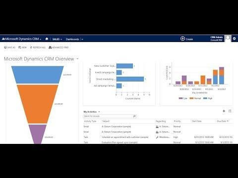 Microsoft Dynamics CRM 2013 - Demo