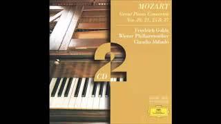 Friedrich Gulda, Claudio Abbado, Wiener Philharmoniker - Mozart  Piano Concerto No 20 & 21