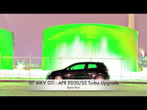 2007 MKV GTI APR ED30/S3 K04 Dyno