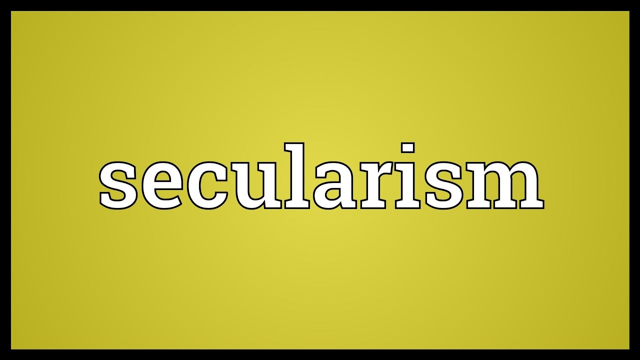 secularism and religion essay