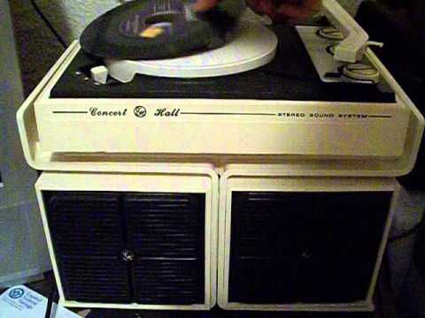 Ge Concert Hall Record Player ( Andy Griffith What It Was Was Football) video